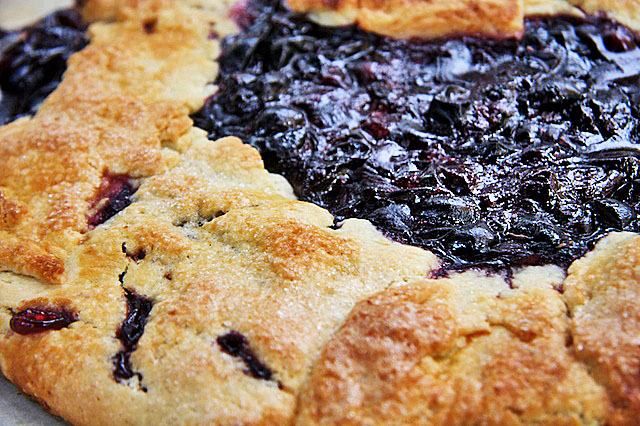 Concord Grape Galette by The Messy Baker