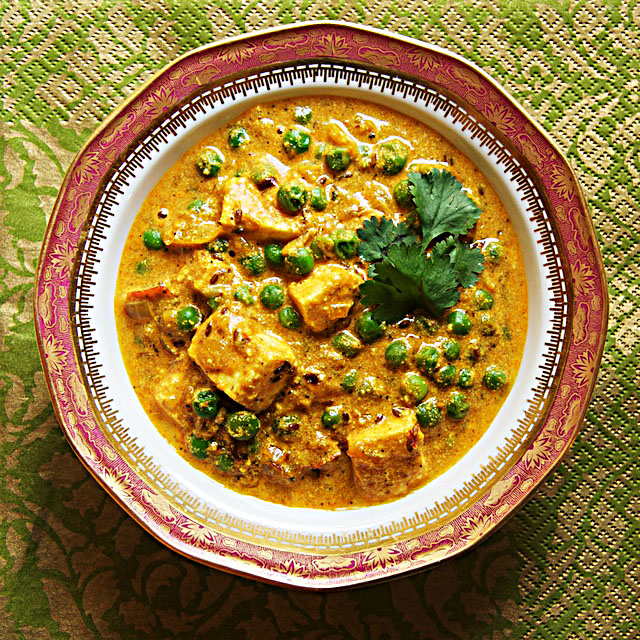 Matar Paneer - The Messy Baker