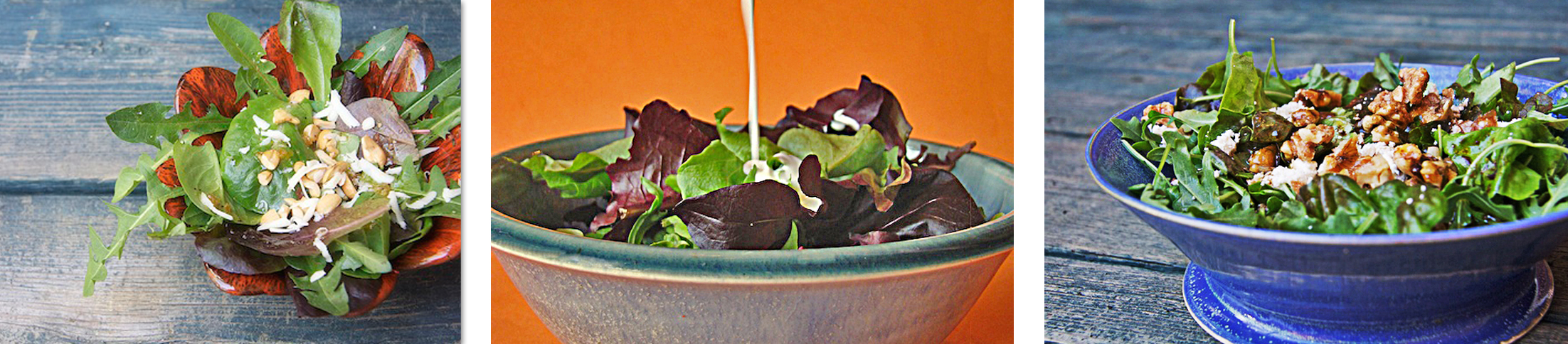 Homemade salad dressing - The Messy Baker