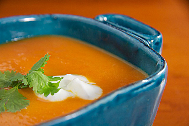 Carrot-Orange-Ginger-Soup