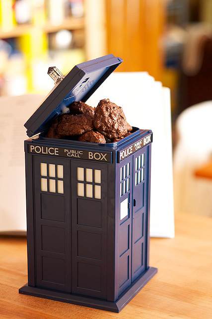 My TARDIS Cookie Jar
