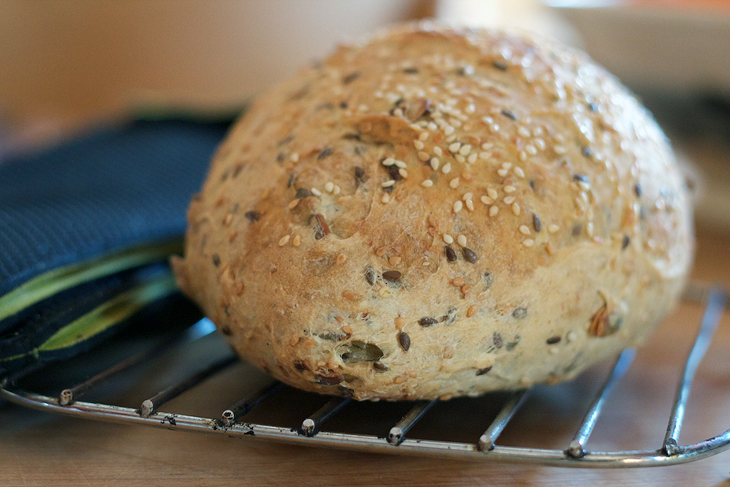Hearty Seed Bread - The Messy Baker