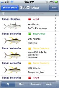Tuna on OceanWise