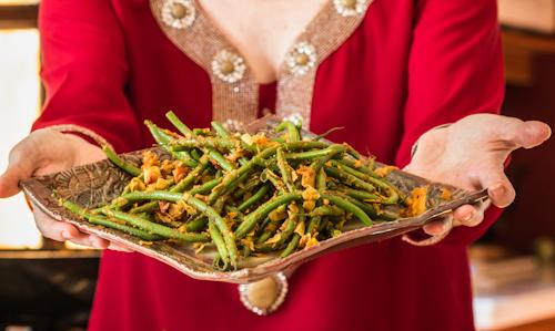 Indian Green Beans