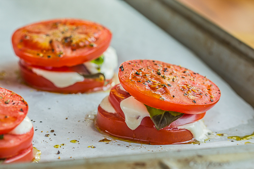 Baked Caprese Salad-1