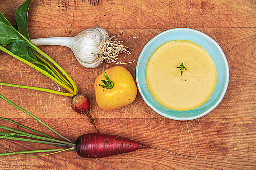golden beet soup-1