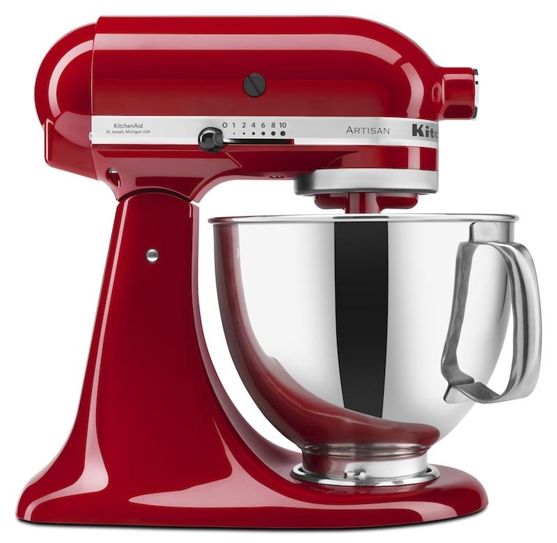 KitchenAid Stand Mixer_Empire Red