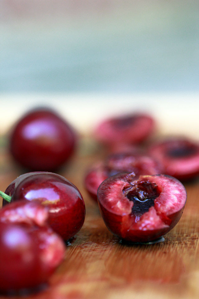 Sweet cherries - TheMessyBaker.com