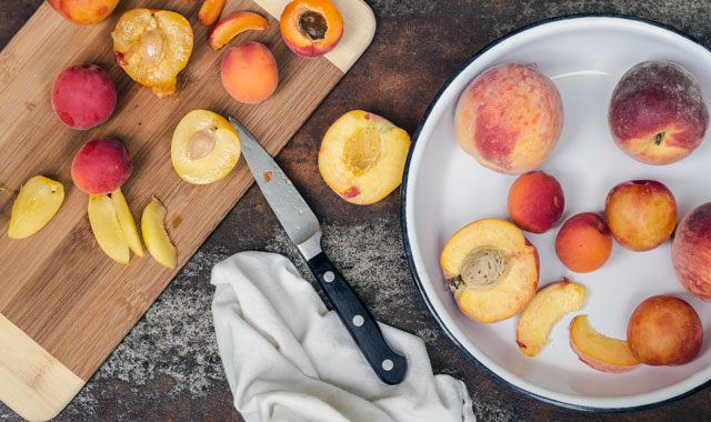 Summer Stone Fruit - TheMessyBaker.com