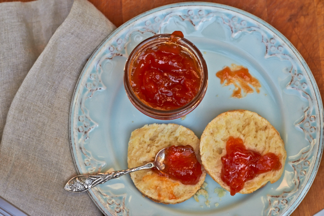 Apricot and Honey Jam - TheMessyBaker.com