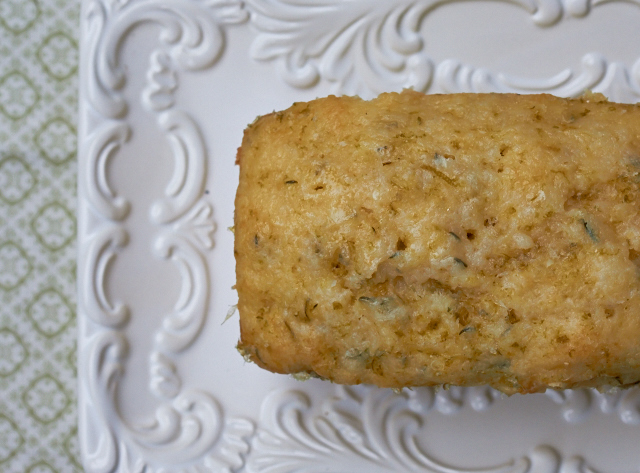 Lime-Glazed Zucchini Bread: A great way to deal with the zucchini onslaught - TheMessyBaker.com