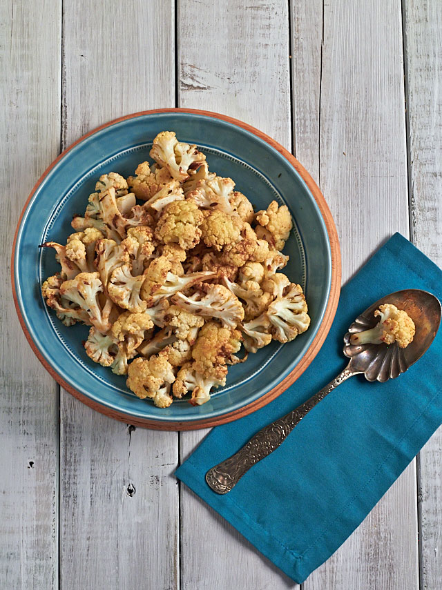 Simple roasted cauliflower