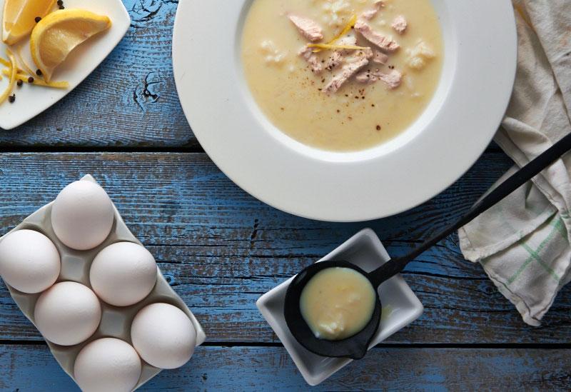 Avgolemono Soup by TheMessyBaker.com