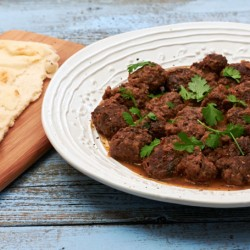 Moroccan Beef & Mushroom Tagine by The Messy Baker