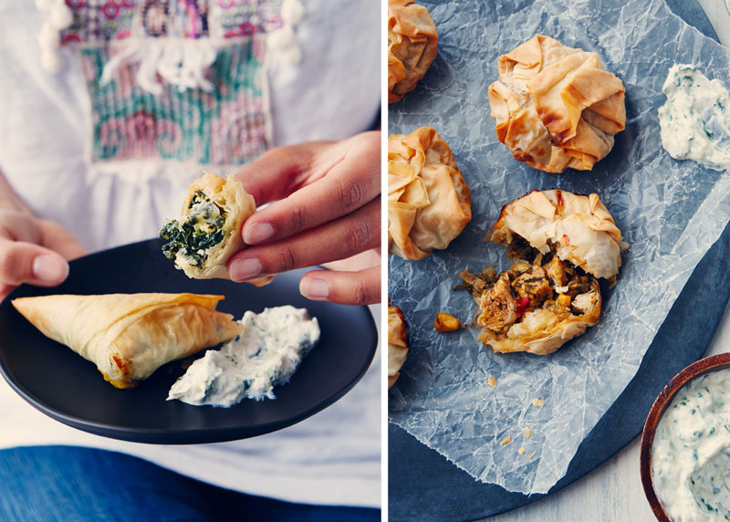 Working with Phyllo Pastry by The Messy Baker