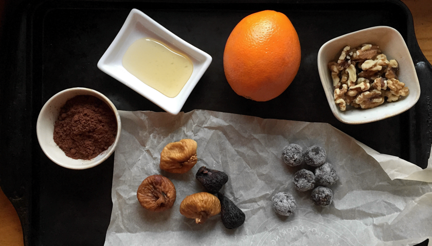 Ingredients for Sugarplums by The Messy Baker