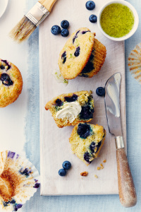 Blueberry Lime Muffins B