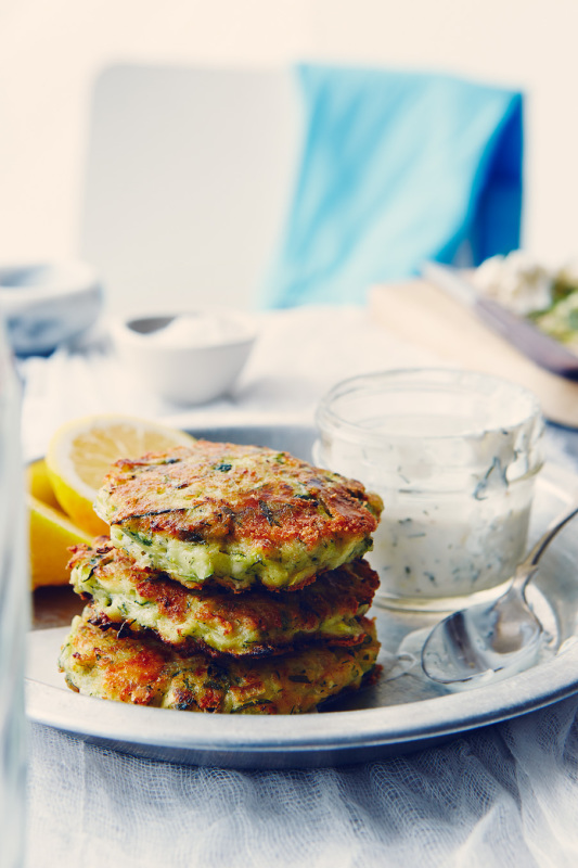 Dill Zucchini Fritters