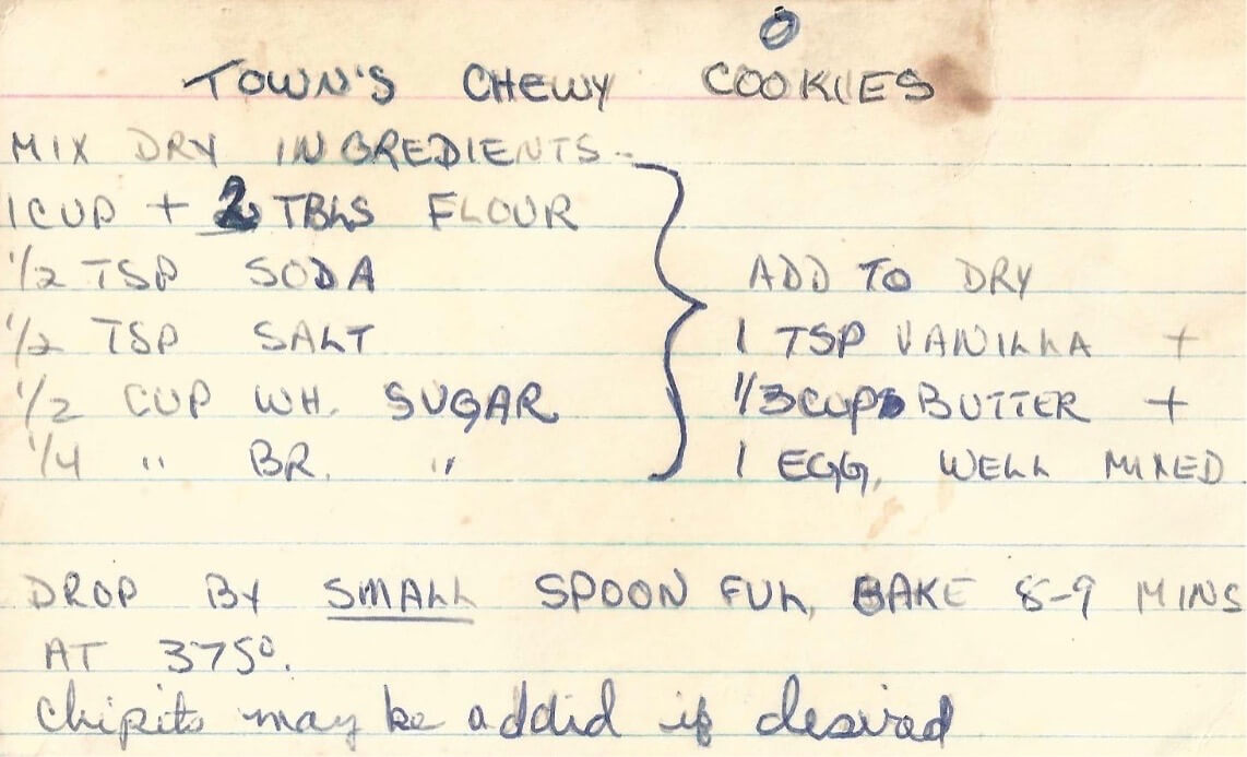 My Grandmother's original Recipe